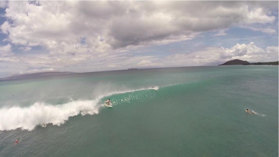 【空撮動画】ハワイ「マウイ島」ウェーブセッション