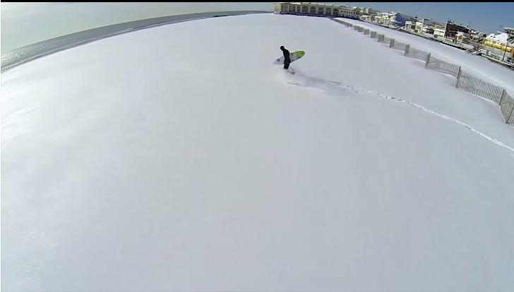 Rob Kelly(ロブ・ケリー)真冬でもサーフィン好きにはたまらない!ニュージャージー州でコールドバレルセッション