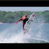 【動画】闘鶏(とうけい)とサーフィンのMIX動画:Marc Lacomare(マーク・ラコマレ)