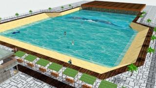 【動画】神戸に人工サーフィン場開設へ 国内唯一、サーフィン本格的練習施設