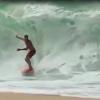 【動画】痛そうだな~浜辺近くのブレイクを楽しむJamie O'Brien(ジェイミー・オブライエン)