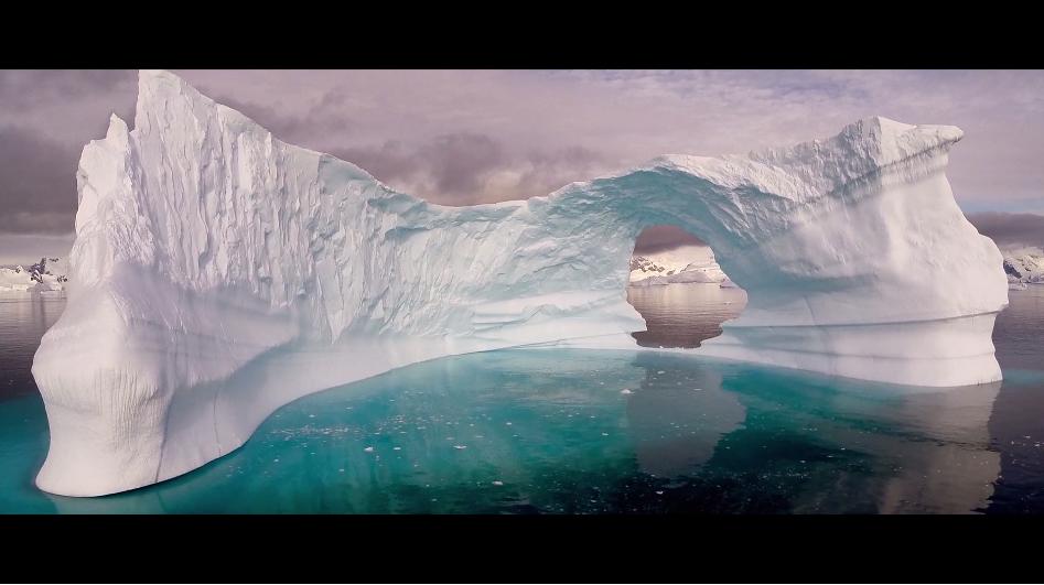 南極の息をのむような風景をお届け!!byFilmmaker