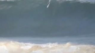 【動画】プエルトリコでのビックウェーブでのプルアウト(波乗り失敗)Pedro Calado(ピードロー・キャラッドー)