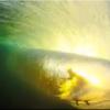 【動画】チューブライディングした波の裏側から撮影した12秒のショートムービーcjhobgood(クリフトン・ジェームス・ホブグッド)