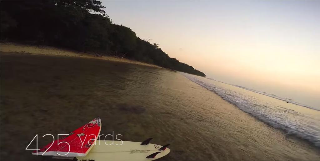 ロングロングライド動画Timmy Turner's(ティミーターナー)の933ヤード!インドネシアの波