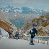 【動画】ノルウェーの自然の美しさを見ながら坂を滑走、Ishtar Backlund(イシュター・バクルンド)