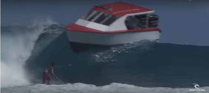 Rip Curl(リップカール)のサーフィンはいっぱい危険があるとわかる動画