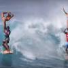 【動画】凄すぎるよ・・・ハワイで開催されるフィギアスケートなサーフィン