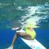 【動画】世界に誇る美しい海、ミクロネシアでサーフガールが魅せるサーフィン