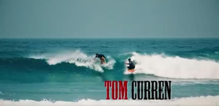 Tom・Currn(トム・カレン)がボディーボードでおふざけアクション