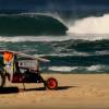 【動画】Fatbikeで大西洋岸に1,017キロに沿ってうねりを求めていく動画