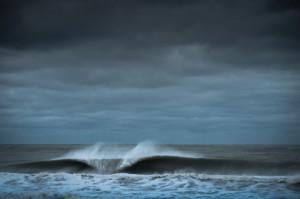 寒波があった、南カリフォルニアのサーフィンの様子_2