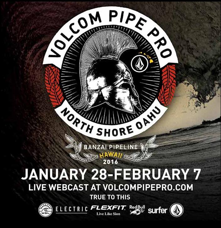 Volcom Pipe Pro2016年のトレーラーをお届け!