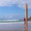 【動画】超ながーいロングボード!ライディングは出来るのか?