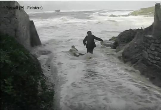 荒れているポイントで波のチェックの際は要注意!
