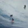 【動画】衝撃!トリオでのカイトサーフィン!