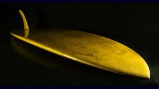 【動画】純金のサーフボードThe Aureus!そのお値段は?
