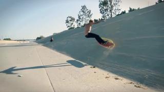 【動画】陸トレ!カルフォルニアのスケートボードHamboard(ハンボード)の動画