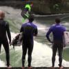 【動画】プロでも難しいミュンヘンの街中のポイントでのリバーサーフィン