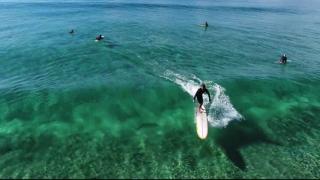 【動画】うねりが透明過ぎて見えない!オーストラリアからの見事なドローンレコーディング