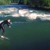 【動画】スイスのブレームガルテンにてリバーサーフィン!