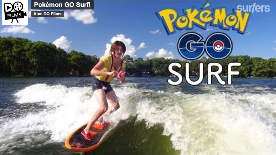 まさかの?Pokemon GO Surf!