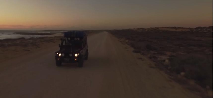 【動画】車で波を求めて三ヵ月で24,000キロ