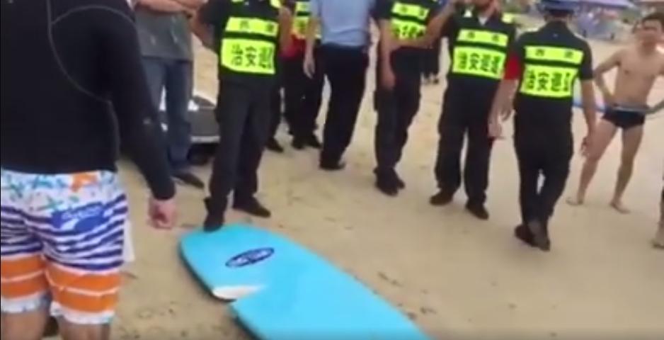 サーフィン禁止のビーチで起こった男性の末路