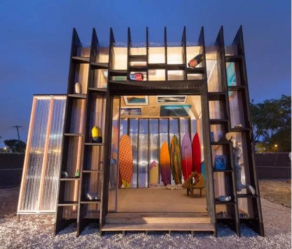 【画像】世界中の20のクールなサーファー小屋_2