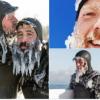 【動画】恐るべし五大湖の極寒サーフィン!