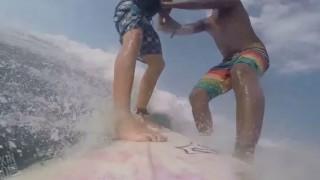 【動画】これは痛々しいサーフィンハプニング集