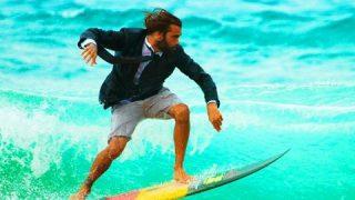【動画】イタリアでサーフィン?極上の波があるのを知っているか?