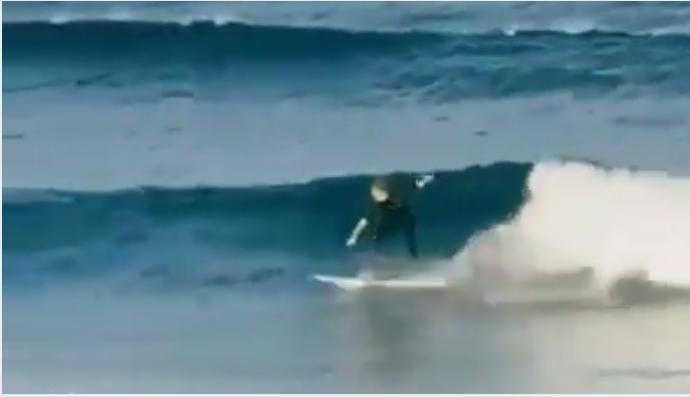 サーフィン面白テクニックライディング