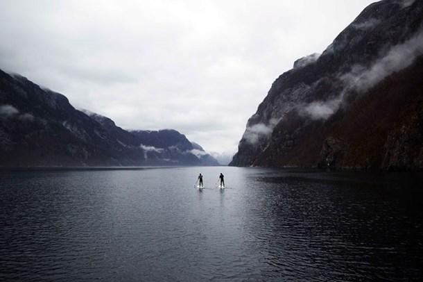 ノルウェーのサーフィンのパイオニア