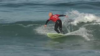 【動画】目に障害の持ったサーファーが 9ポイントライド!