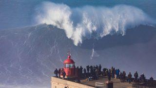 【動画】今年もやってきた2018年ポルトガルのナザレポイントでビックウェーブが発動