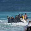 【動画】マウイ島バックドアのワイプアウトで事故